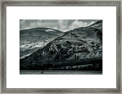 Ulswater Lake District Framed Print