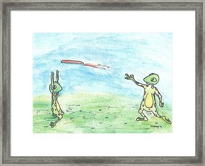 Ultimate Froggie Framed Print