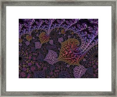 Ultra Leaf 1 Framed Print