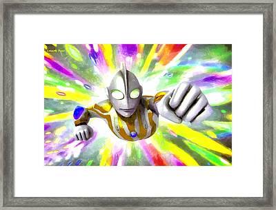 Ultraman - Da Framed Print