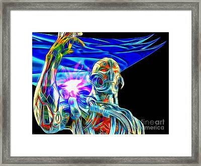 Ultron In Color Framed Print
