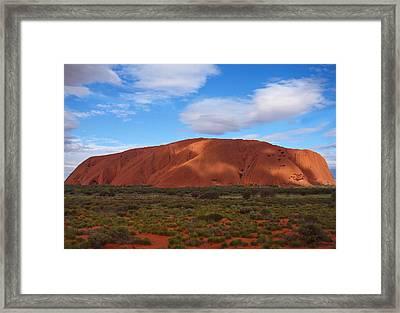 Uluru Framed Print by Pamela Kelly Phillips