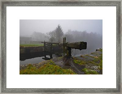 Ulverston Canal Framed Print by Nichola Denny