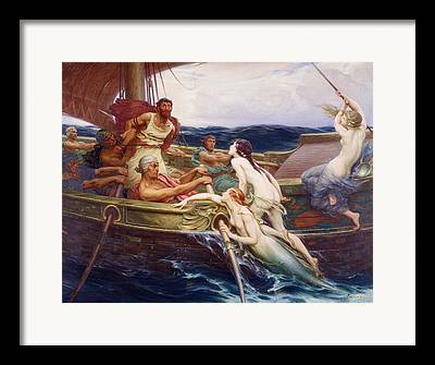 Greek Myths Framed Prints
