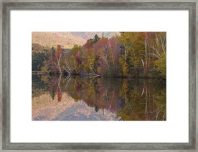 Umbagog Lake Framed Print by Henry Krauzyk