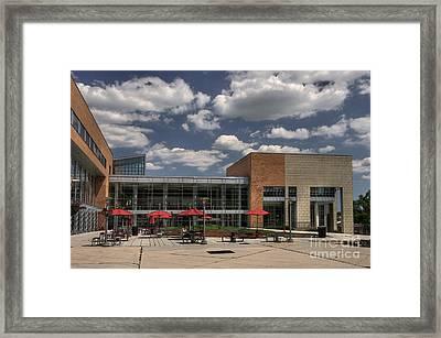 Umbc Studen Union Framed Print by Lois Bryan