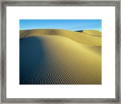 Umpqua High Dunes Framed Print