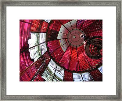 Umpqua River Red Framed Print