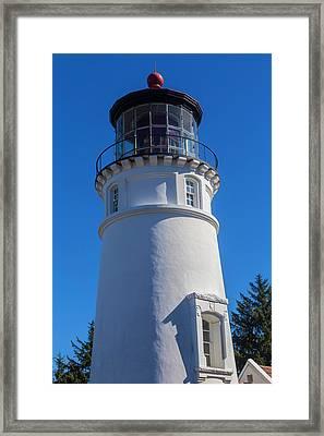Umpqua River Lighthouse Oregon 2 Framed Print by Garry Gay