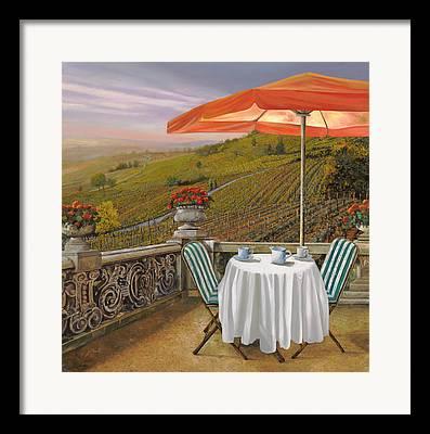 Vineyard Framed Prints