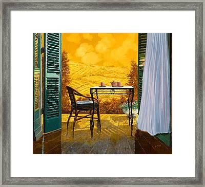 Un Caldo Pomeriggio D Framed Print by Guido Borelli