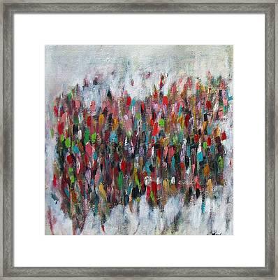Un Gachis De Peinture  Framed Print by Brooke Wandall