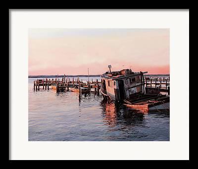 Boatscapes Framed Prints