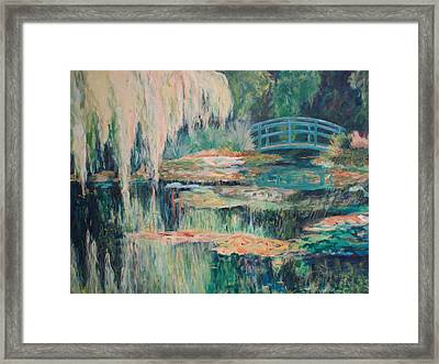 Unassuming Grace Framed Print