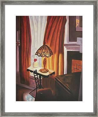 Unatainable Framed Print by Suzanne  Marie Leclair