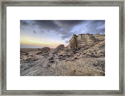 Framed Print featuring the photograph Unbelievably Kansas by JC Findley