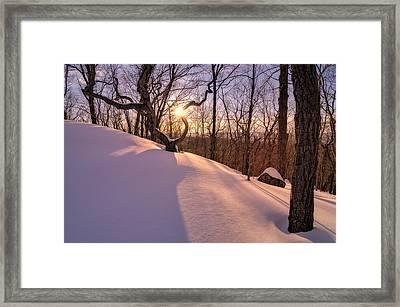 Unbroken Trail Framed Print