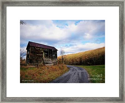 Uncertainty In Color Framed Print