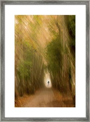 Uncertainty Framed Print by Okan YILMAZ