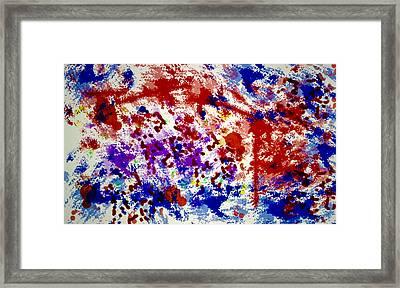 Uncertainty Framed Print by Raul Diaz