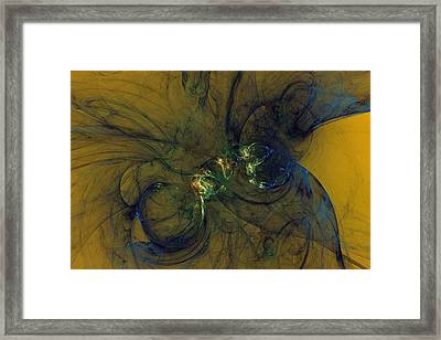 Uncertainty Suppression Framed Print