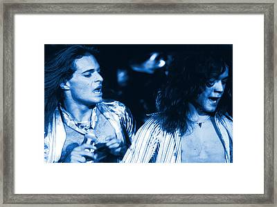 Unchained Blues Framed Print by Ben Upham