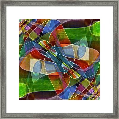 Unchartered Framed Print by Gwyn Newcombe