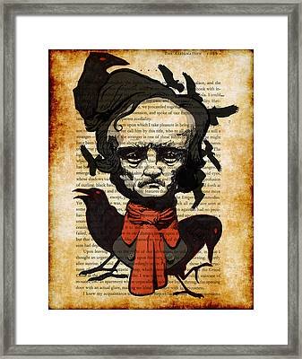 Uncle Ed Framed Print by Kyle Willis