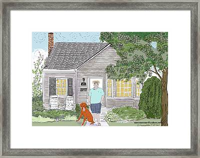 Uncle Kevin's Framed Print by Susie Morrison