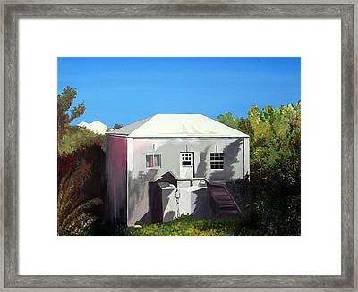 Uncle Leons House Framed Print by Caleb Bynum