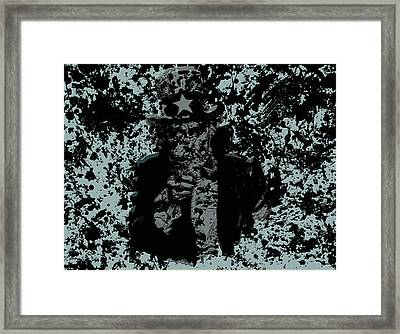 Uncle Sam 1a Framed Print by Brian Reaves
