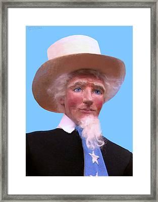 Uncle Sam 2 Framed Print