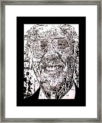 Uncle Walter Framed Print by Gabe Art Inc