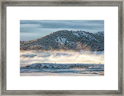 Uncompaghre Valley Fog Framed Print