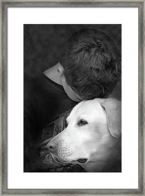 Unconditional Framed Print by Cathy  Beharriell