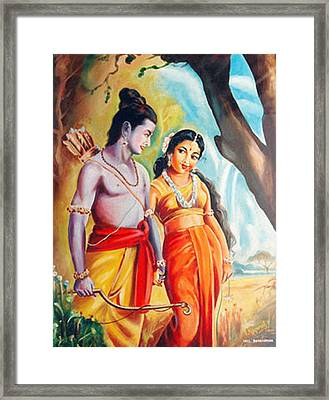 Unconditional Love Framed Print by Ragunath Venkatraman
