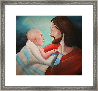 Unconditional Love Framed Print by Scott Easom
