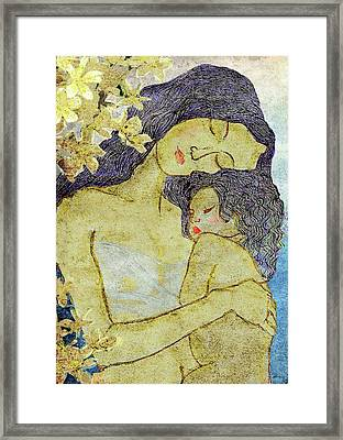 Unconditional Love Framed Print by Shakila Malavige