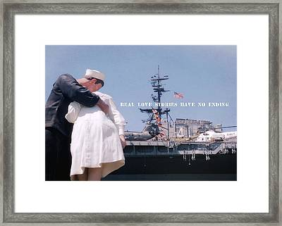 Unconditional Quote Framed Print by JAMART Photography