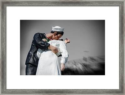 Unconditional Surrender 1 Framed Print