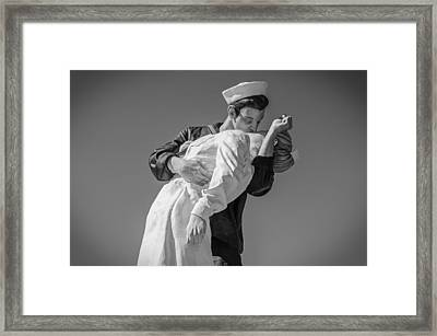 Unconditional Surrender 3 Framed Print