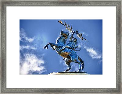 Unconquered Chief Osceola And Renegade Framed Print