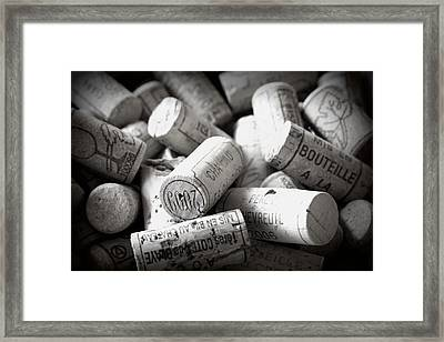 Uncorked Framed Print by Georgia Fowler