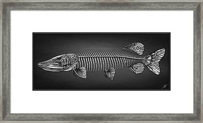 Undead Pike Framed Print
