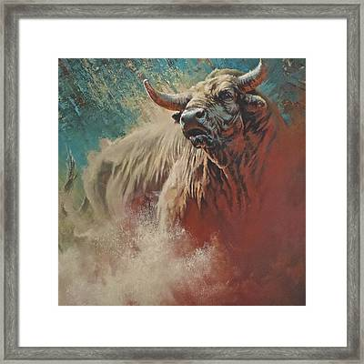 Undefeated Framed Print
