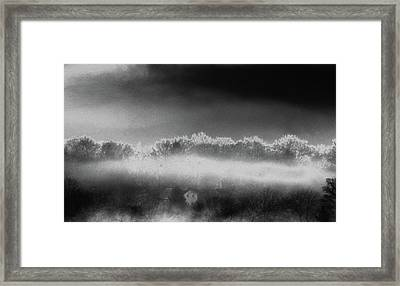 Framed Print featuring the photograph Under A Cloud by Steven Huszar