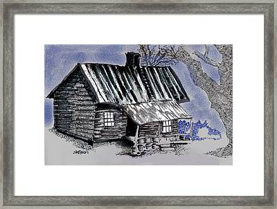 Under A Tin Roof Framed Print