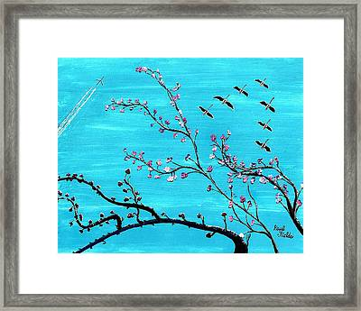 Under A Tree Framed Print