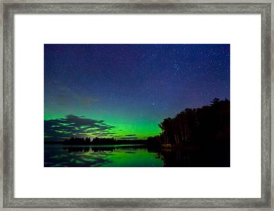 Under An Alien Sky Framed Print by Adam Pender