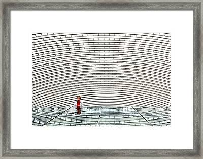 Under Arches Framed Print by Michel Guyot
